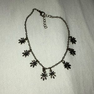 Jewelry - Weed Leaf Anklet